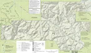 Map Of Tennessee State Parks by Morgan Territory Regional Preserve