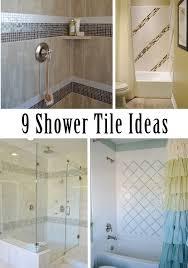9 shower tile ideas home improvement pinterest more tile
