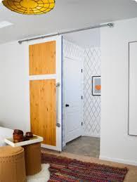 Interior Barn Doors Diy How To Build A Simple Sliding Barn Door U2022 Vintage Revivals