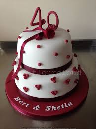 ruby wedding cakes 25 best ruby wedding cake ideas on wedding