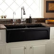 kitchen white ceramic farm sink apron front double bowl kitchen