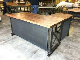 Chic Home Office Desk Office Industrial Office Decorating Ideas Rustic Chic Home