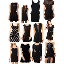 forever 21 little black dresses polyvore