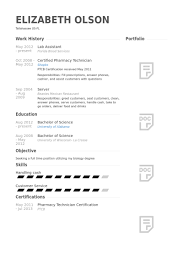 Lab Resume Lab Assistant Resume Samples Visualcv Resume Samples Database