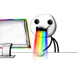 Throwing Up Rainbows Meme - puking rainbows meme 28 images puking rainbows seatbelt meme