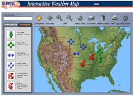 the techie teacher interactive weather map science pinterest