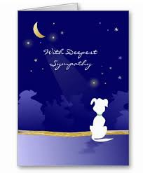 sympathy cards for pets condolences for dog passing away nudlux