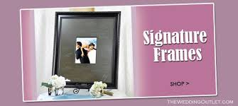 wedding autograph frame our wedding signature photo frame with marker pen makes a