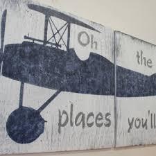 Vintage Airplane Nursery Decor Best Baby Boy Airplane Products On Wanelo