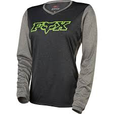womens fox motocross gear fox racing indicator long sleeve jersey women u0027s competitive