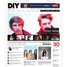 web design news 25 magazine or news style web designs for inspiration