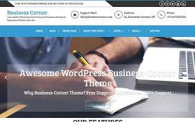 100 best free business wordpress themes 2017