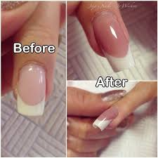 powder gel nails vs acrylic nails gallery