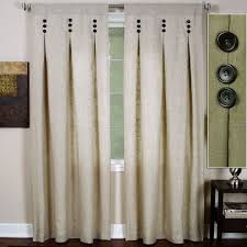 Ready Made Curtains For Large Bay Windows by Light Tone Wooden Bench Bay Window With White Curtain And Blue