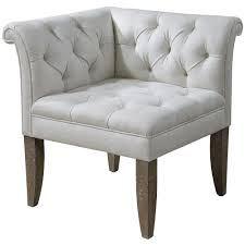 Linen Tufted Sofa by Trenton French Country Tufted Beige Linen Corner Chair Kathy Kuo