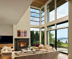 two story living room modern two story living room luxe interiors design