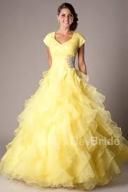 a pretty yellow modest dress dresses pinterest modest