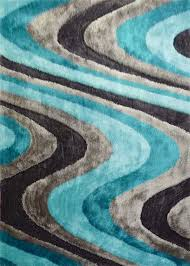 Area Rugs With Turquoise And Brown Contemporary Gray And Teal Area Rug Turquoise 2361 Regarding
