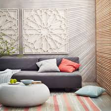 West Elm Wallpaper by Whitewashed Wood Wall Art West Elm Uk