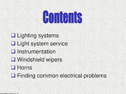 troubleshooting emergency lighting systems lights instrumentation ppt download
