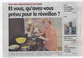 journal de cuisine mes recettes de fêtes dans le journal de gien la cuisine de jeannine