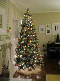 citrus tree dried orange slice ornaments
