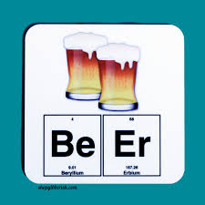 beer emoji beer chemistry emoji coaster science periodic table of