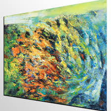 canvas art oil painting living room wall art abstract landscape