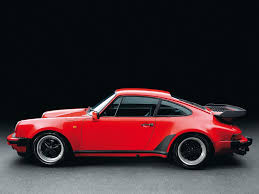1990 porsche 911 red porsche 930 turbo 1975 to 1989