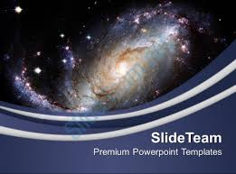 cool themes for google slides illustration of spiral galaxy powerpoint templates ppt themes and