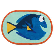 Machine Washable Bathroom Rugs by Disney Pixar Finding Dory Bath Rug By Jumping Beans