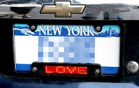 Nys Vanity Plates New York Ny Led License Plate Frames Draw Attention From