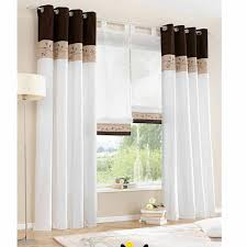 1 piece only 2015 new white living room curtains bedroom window
