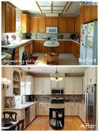 Rustoleum Kitchen Makeover - awesome before and after diy kitchen cabinet makeover what a