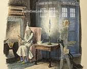 items similar to doctor who greeting cards tardis charles dickens