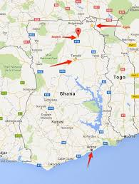Ghana Africa Map Where Were We In Ghana Jerry Zurek