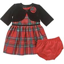 george newborn baby plaid or special occasion dress