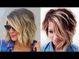 history on asymmetrical short haircut 2018 short balayage asymmetrical bob hairstyles and haircuts