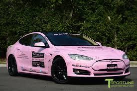 matte pink car satin pink tesla model s 1 0 breastcar u2013 tsportline com tesla