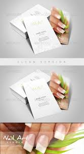 nail art manicure business card business cards business and