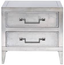 Silver Leaf Nightstand Salt Springs Side Table 9714e Our Products Vanguard Furniture