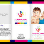 daycare brochure template daycare brochure sles child care brochure template 8 day care