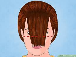 how to manage a ver low hairline how to cut bangs with pictures wikihow