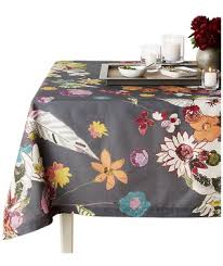 6 fall tablecloths for your thanksgiving gathering real simple