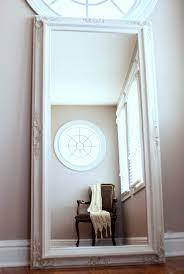 Vintage White Bedroom Mirrors Flooring Full Lengthree Standingloor Mirrorsfull Mirrorsor