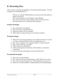 Example Of A Marketing Resume Writing A Business Plan 9 638 Jpg Cb U003d1470708141