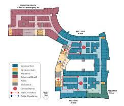 Floor Plan Hospital Design Efficiency In Healthcare U2014 Kmd Architects