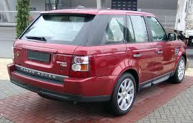 burgundy range rover range rover sport hse 2716054