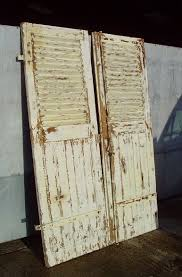 shabby chic doors architectural shabby chic oak door shutters