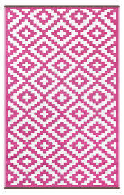 Pink Outdoor Rug Pink And White Indoor Outdoor Rug Green Decore